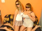 livecam amateur SexyAniela + WildAmelia